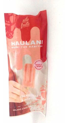Palito Helado Haulani Sin Azúcar Sabor Frambuesa Y Pomelo