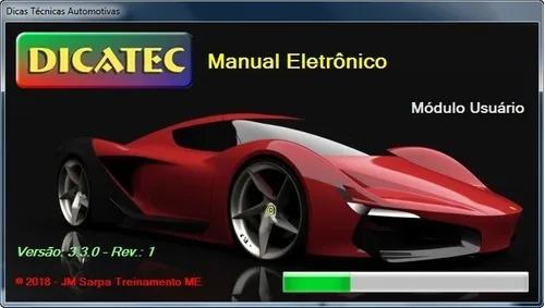 Imagem 1 de 2 de Dicatec 3.3 + Mecanica 2000, 103 Manuais + Ciclo Engenharia