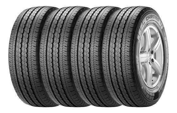 Combo X4 Neumaticos Pirelli 205/75r16 C Chrono 110r Cuota