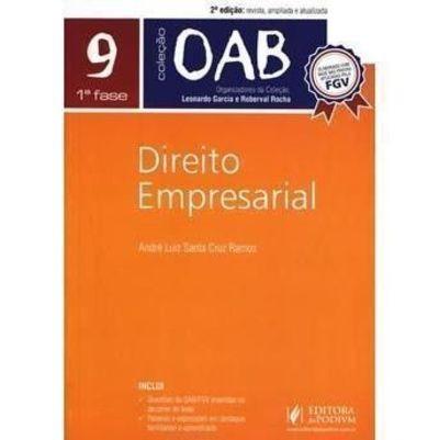 Direito Empresarial - Volume 9 Coleção Oab