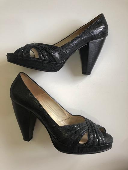 Zapatos De Fiesta 100% Cuero N 37 Maggio Rosetto