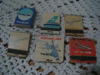 Antigas Caixas De Fósforos , Pan Am , Varig , Cruzeiro