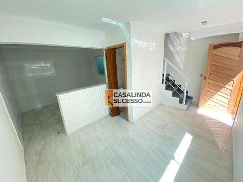 Sobrado À Venda, 100 M² Por R$ 430.000,00 - Penha - São Paulo/sp - So1077