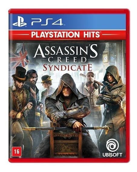 Jogo Assassins Creed Syndicate - Ps4 - Novo - Mídia Física