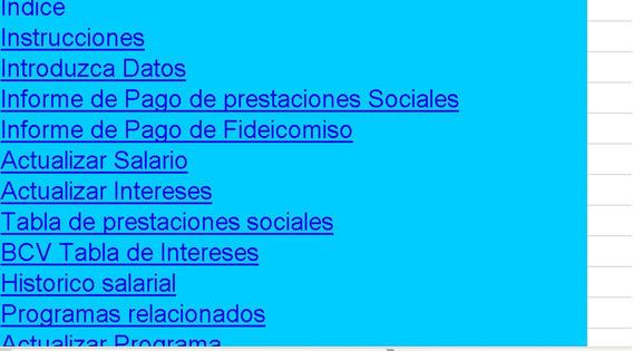 Cálculo Prestaciones Sociales Lottt Agosto 2019