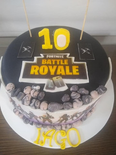 Torta Esculpida - Fortnite