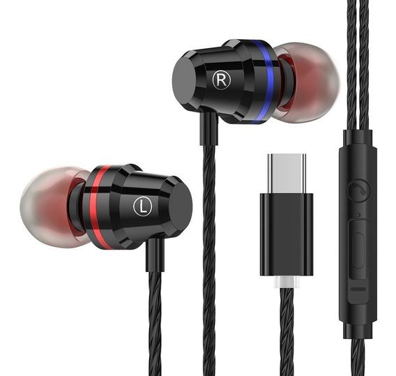 Interface Ptm M4 Com Fone De Ouvido Intra-auricular Tipo C