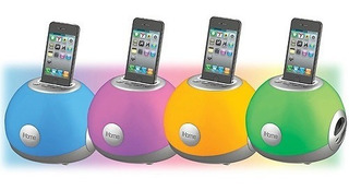 Dock Speaker Color Led iPhone/iPod Gran Sonido Mix Luces