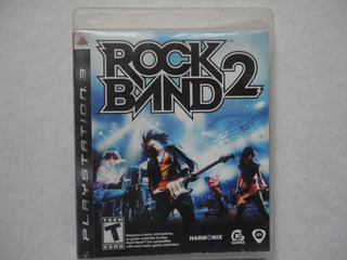 Rockband 2 Ps3 Disco Físico Completo!!