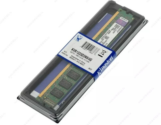 Memoria Ddr3 4gb 1333 Kingston Pc3-10600 Nuevas Con Garantia