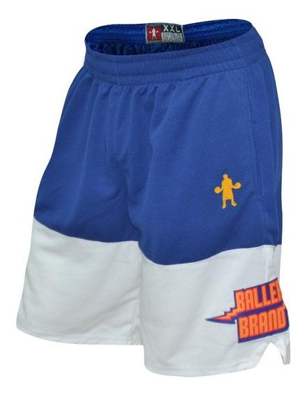 Short Baller Brand Fit Dub Azul - Basquet Basketball