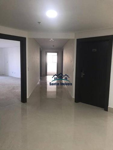 Sala Para Alugar, 44 M² Por R$ 1.700,00/mês - Centro - Santo André/sp - Sa0024