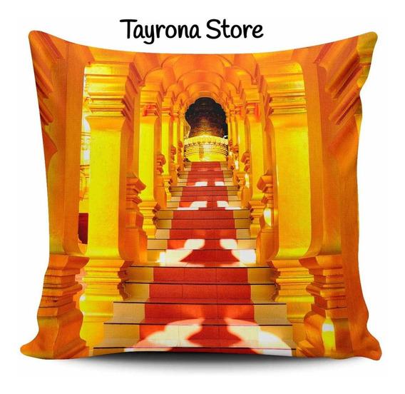 Cojin Decorativo Tayrona Store Templo Indu