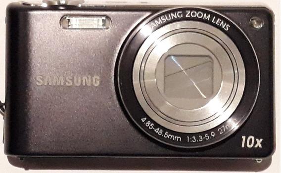 Máquina Fotográfica Samsung Filma Em Hd