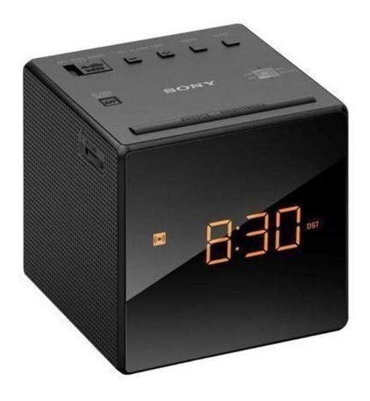 Radio Relógio Sony Compacto Radio Am Fm 2 Modos Alarme Casa