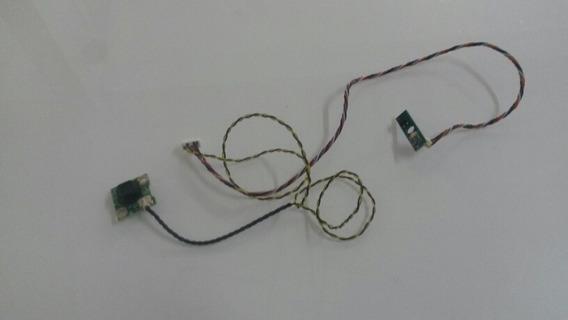 Botão Power E Sernsor Cr Da Tv Aoc Le32d1352