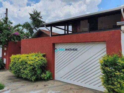Imagem 1 de 6 de Sobrado Com 5 Dormitórios À Venda, 450 M² Por R$ 820.000,00 - Jardim Do Lago - Campinas/sp - So0081