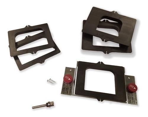 Plantilla Router Cajas De Bisagras Y Cerraduras Puerta 1214