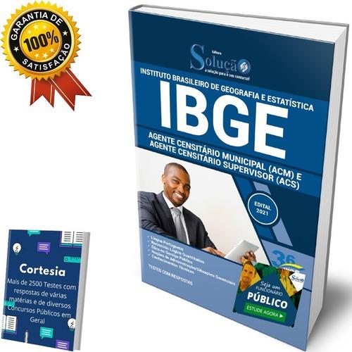 Apostila Ibge - Agente Censitário Municipal E Supervisor