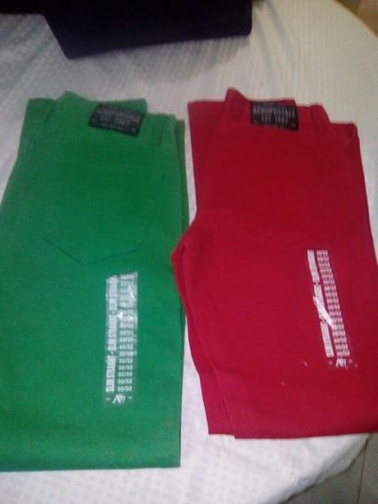 2 X1 Pantalones Aeropostlale Para Hombre