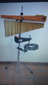 Cortina Para Percusionistas Meinl Con Pandereta Y Campana Lp