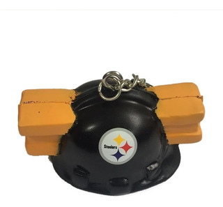 Chaveiro Pittsburgh Steelers Foam Head