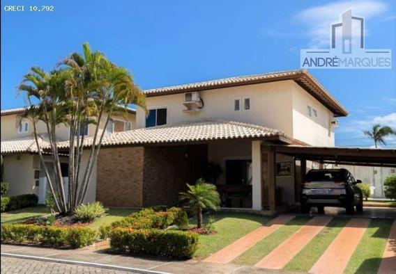 Casa Em Condomínio Para Venda Em Salvador, Piatã, 4 Dormitórios, 4 Suítes, 2 Banheiros, 4 Vagas - Am300