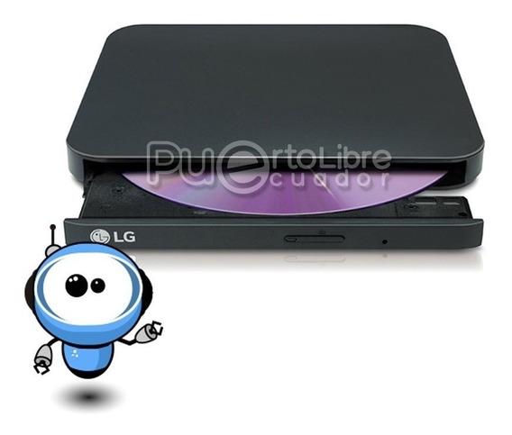 Lg P O T E N T E Dvd Writer Externo + Ultra Slim Mac Windows