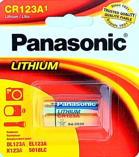 Pila Panasonic Cr123a Litio 3 Volts En Blíster Sellado