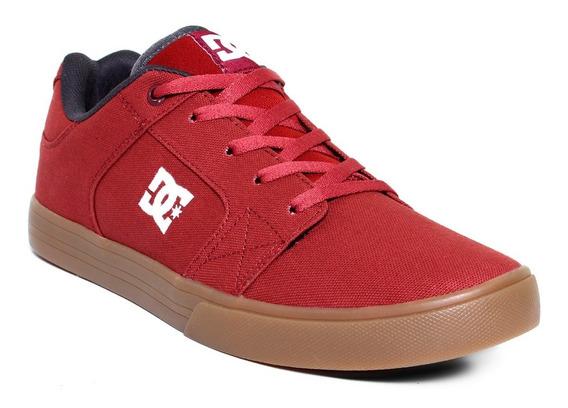 Tenis Para Caballero Dc Shoes Method Tx Mx Syr Rojo Liga