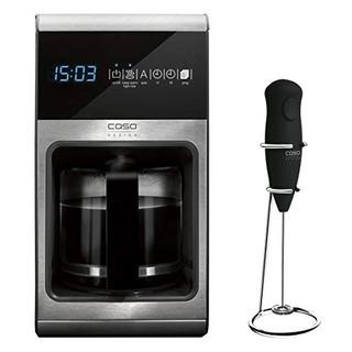 Caso Design 11850-2 Cafetera Electrica + Batidora 12 Tazas