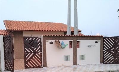 Casa Nova 2 Dormitórios/suíte Lado Praia Em Itanhaém