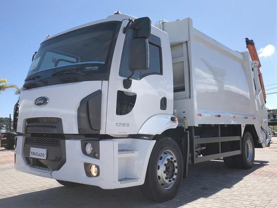 Cargo 1723 4x2 2013 Caçamba Lixo = Vw 17210 17220 17190
