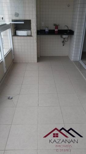 Imagem 1 de 15 de 2 Suítes Mobiliada Em Santos Com Sacada E Lazer Completo - 282
