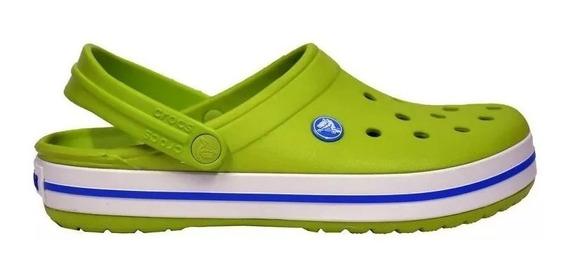 Crocs Originales Crocband Verde Manzana Unisex |hombre Mujer