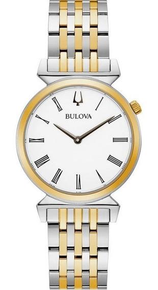 Reloj Bulova Regatta 98l264 Original Para Dama