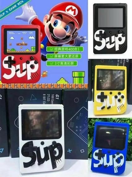 Vídeo Game Retro Clássico Sup Cabo Av Mini 400 Jogos Porta