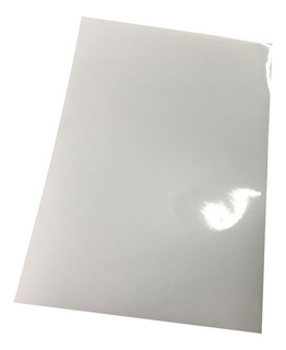 Vinilo Blanco Sublimable Autoadhesivo A4 Pack X10 Unidades