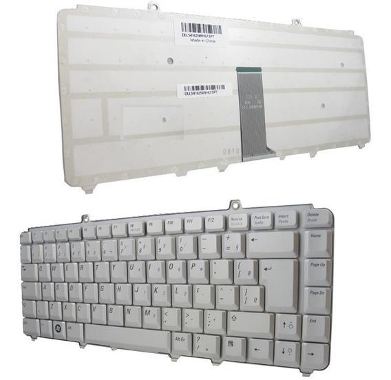 Teclado Notebook Dell Inspiron 1545 1520 1525 Pp25l Prata Br