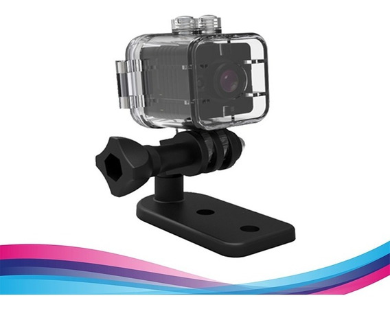 Mini Camara Deportiva Impermeable Tipo Go Pro Waterproof