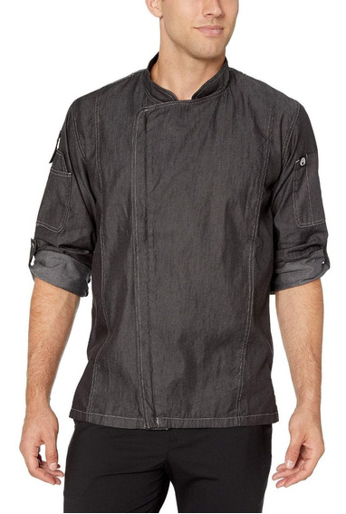 Chef Works Gramercy Denim Chef - Abrigo Para Hombre