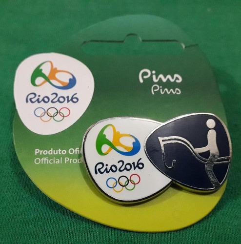 Imagem 1 de 1 de Pin Olímpico - Rio 2016 - Hipismo Adestramento - Memorabilia