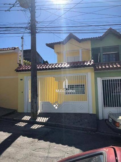 Sobrado Com 3 Dormitórios À Venda, 134 M² Por R$ 500.000,00 - Vila Maranduba - Guarulhos/sp - So0253