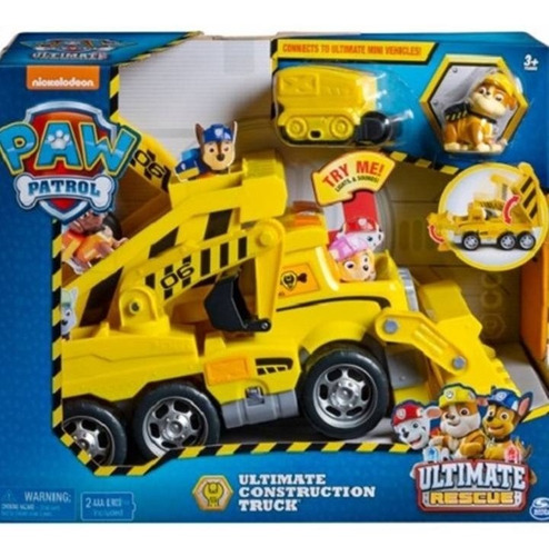 Paw Patrol  Ultimate Rescue Rubble  Camion