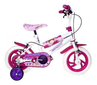 Bicicleta Bronx Mod 243 Bmx Eco R12 Ruedas Plastica Giudice
