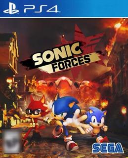 Sonic Forces Ps4 Edicion Estandar