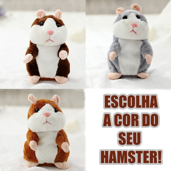 Hamster Falante Dança E Repete O Que Fala Original Promoção