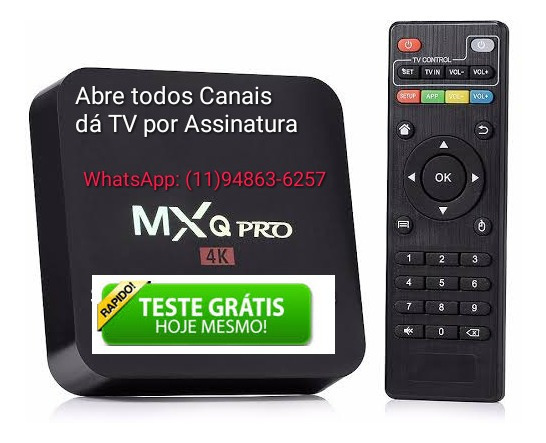 Receptor Streaming Media Player Mi Box 32gb Preto