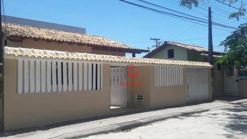 Casa À Venda, 50 M² Por R$ 220.000,00 - Atlântica - Rio Das Ostras/rj - Ca1426