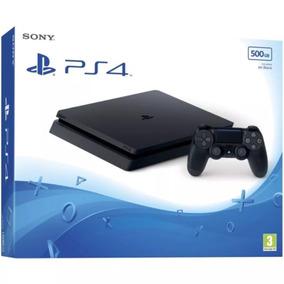 Ps4 Slim Playstation 4 500 Gb Original Bivolt Preto
